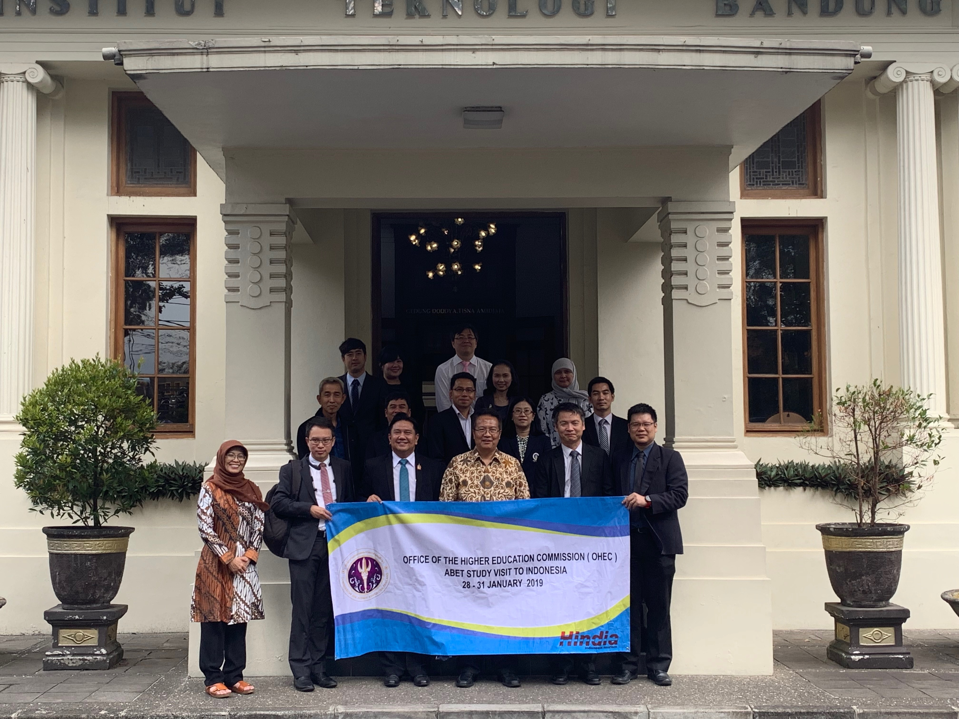 Kunjungan Delegasi 4 Universitas Besar Thailand